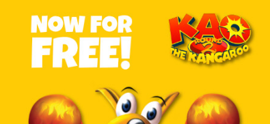 Steam商店限时免费领取动作冒险游戏《Kao the Kangaroo: Round 2》