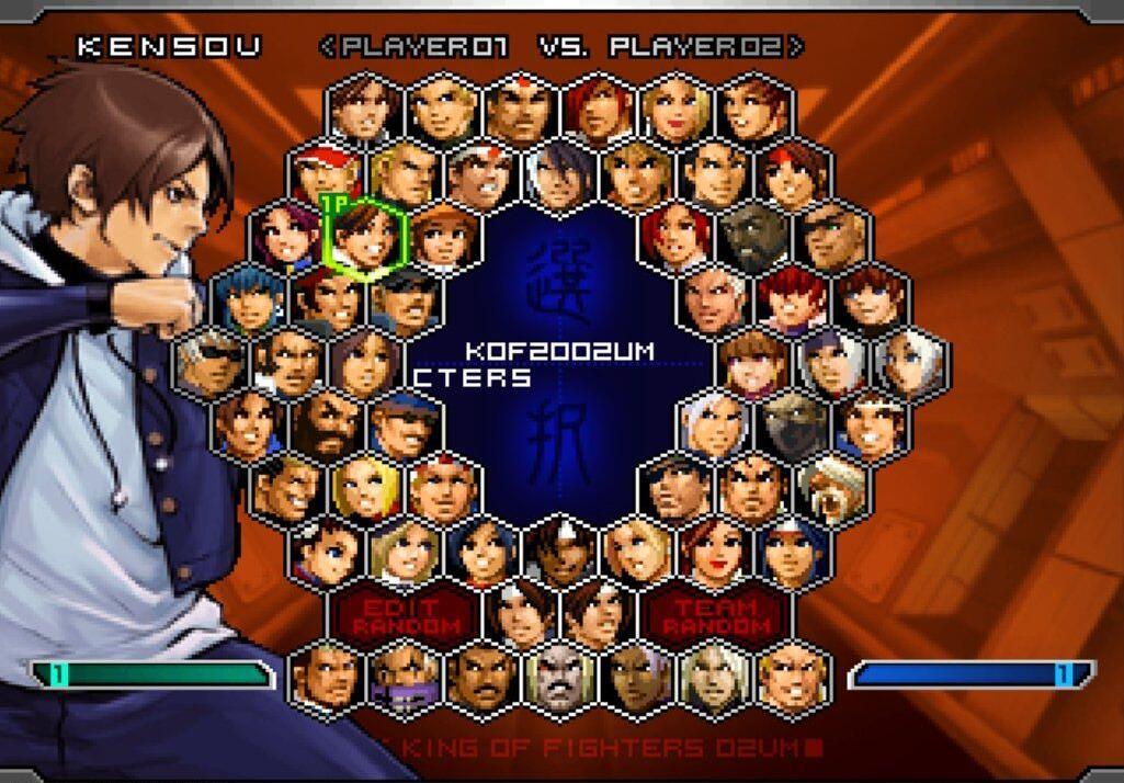 拳皇2002免安装中文版