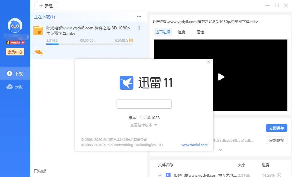 迅雷11 v11.1.0.1038 绿色精简版_急速下载体验插图