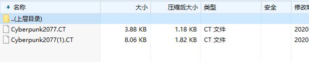 《赛博朋克_2077》修改器(CT文件)