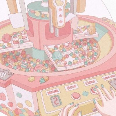 の:看见你眼里都是粉红色的泡泡!