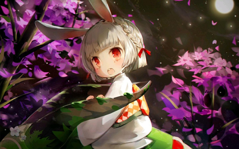 【阴阳师1440×900壁纸】山兔真的是太可爱了-阴阳师山兔电脑动漫壁纸