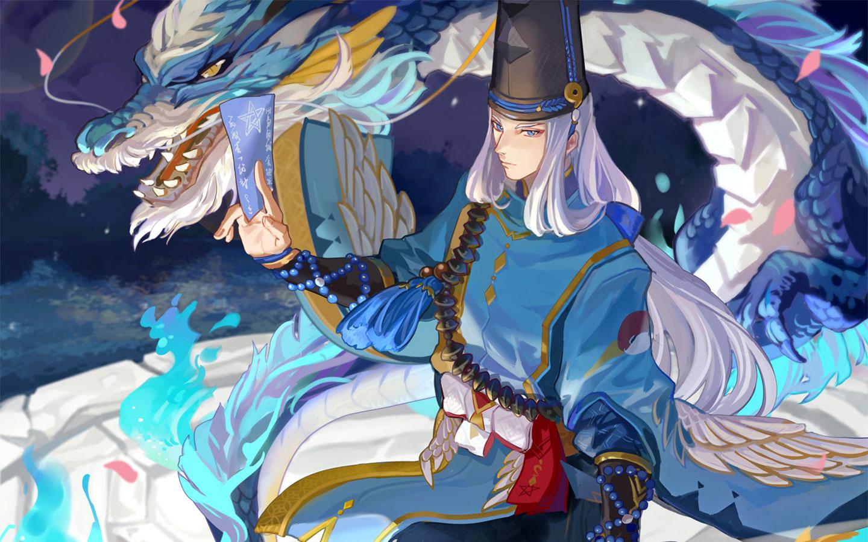 【阴阳师1440×900壁纸】-安倍晴明与源博雅到底谁比较帅气