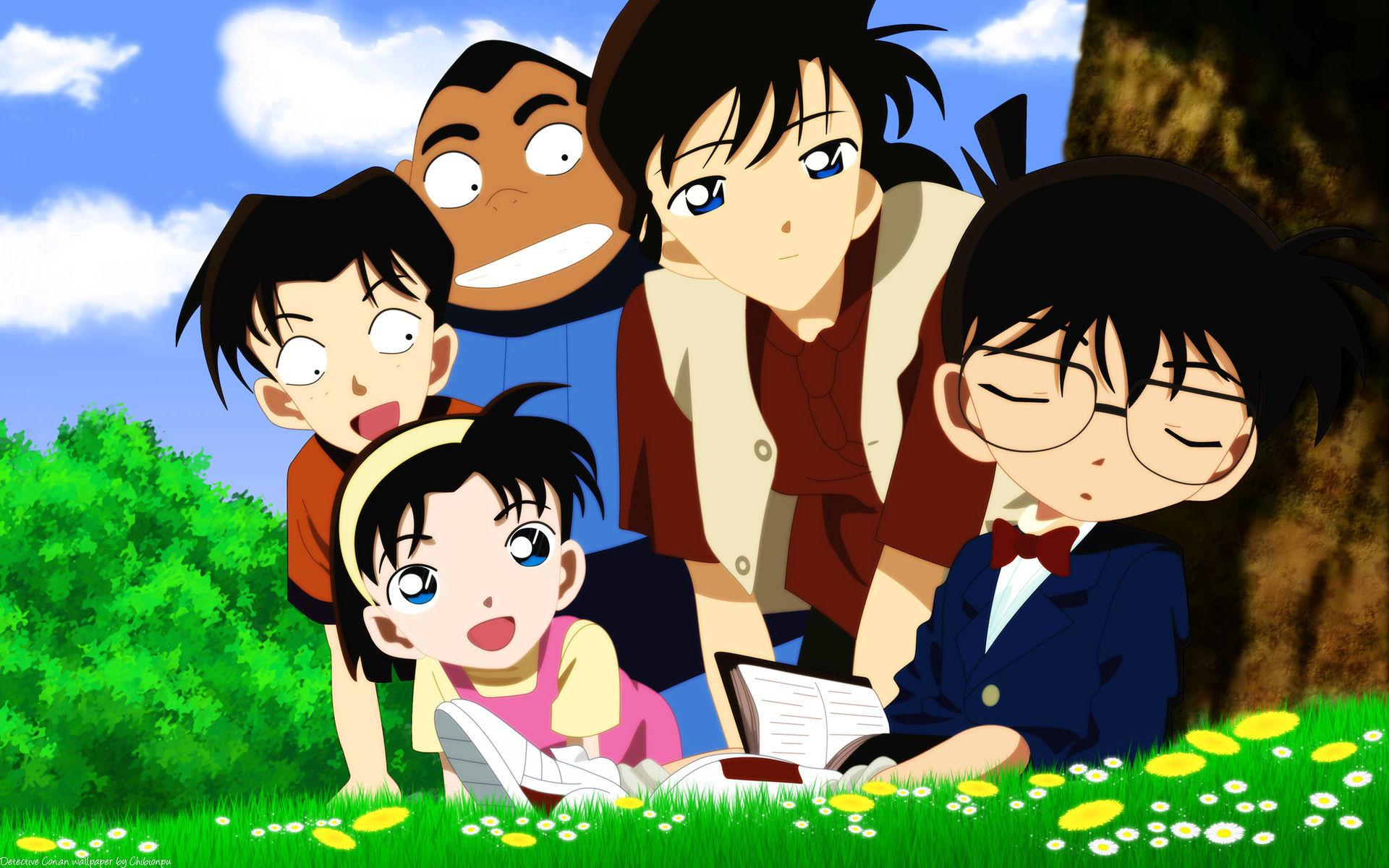 日本经典动漫名侦探柯南唯美图片桌面壁纸高清下载第二辑