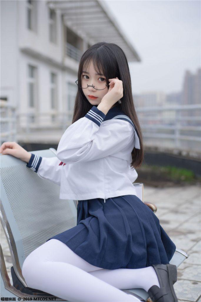 喵糖映画 VOL.067 喵喵的白丝水手服