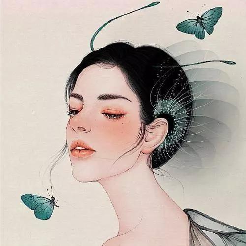 爱是心中的依靠,想是渡不过去的劫;爱着想着,想念的疼无药可医