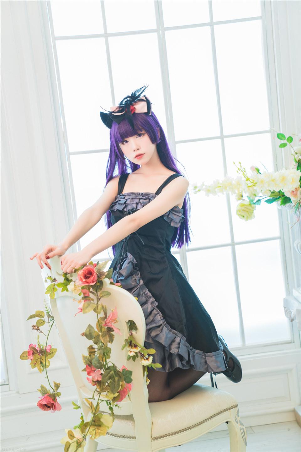 水淼aqua_NO.022 黑猫 冷门小礼服