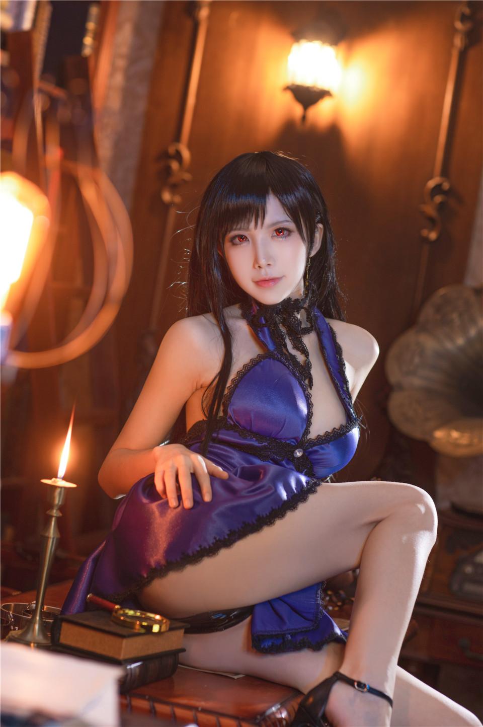 水淼aqua_NO.041 蒂法旗袍和礼服