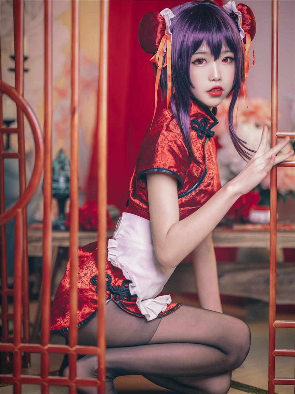 水淼aqua_NO.028 之丘诗羽 旗袍