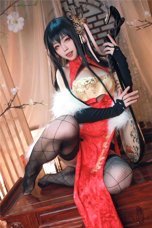 水淼aqua_NO.029 大凤新春旗袍