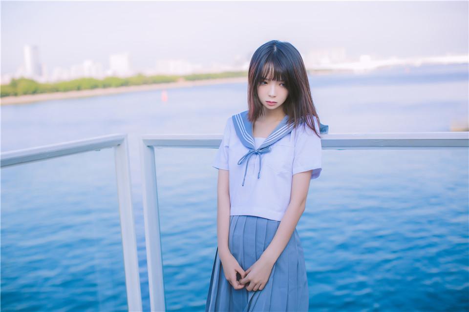 疯猫ss – NO.02 制服写真 海边