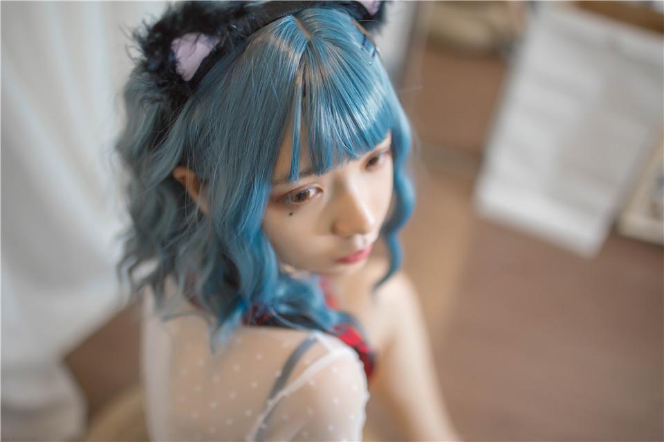 疯猫ss – NO.05 个人写真集 蓝发