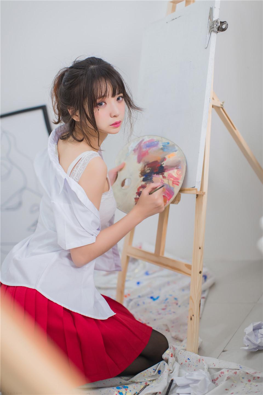 疯猫ss – NO.01 制服写真 画室JK