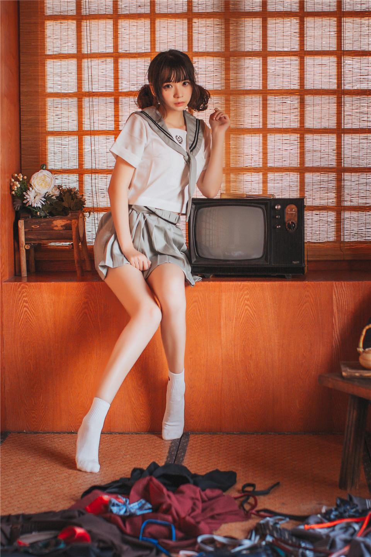 疯猫ss – NO.01 制服写真 日式JK