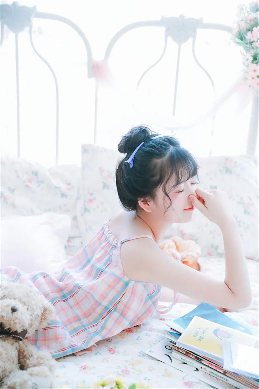 清纯美女 青春的笑容