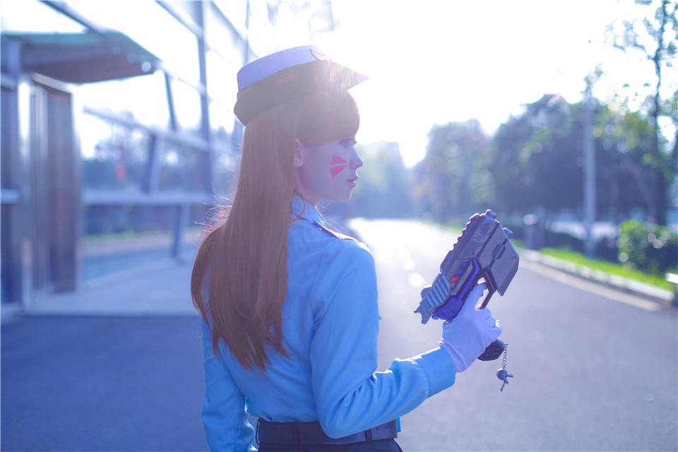 守望先锋COSD.VA小女警游戏宋哈娜 岛田小熊