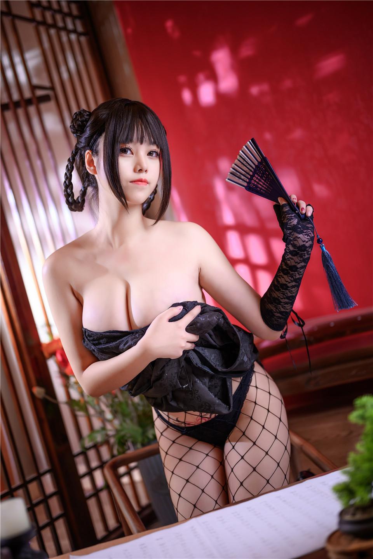 蜜汁猫裘 NO.060 魔女旗袍[56P][1.08G]