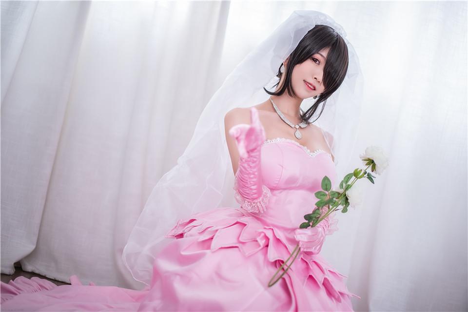 鳗鱼霏儿_NO.50 狂三 婚纱 [14P][308MB]写真高清原图打包下载