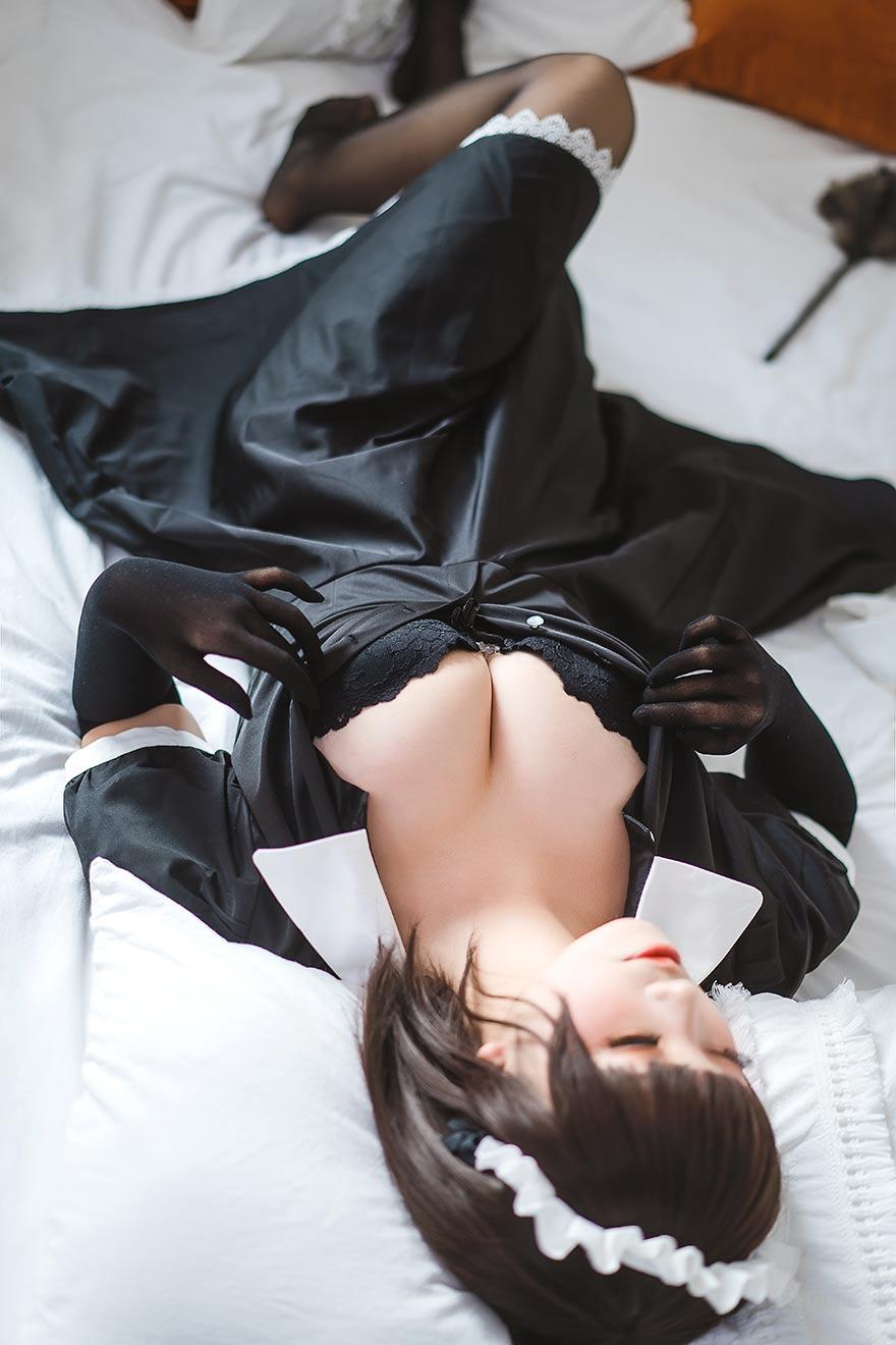 可爱的女仆叫你起床啦