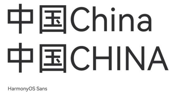 HarmonyOS Sans华为鸿蒙系统定制字体官方版