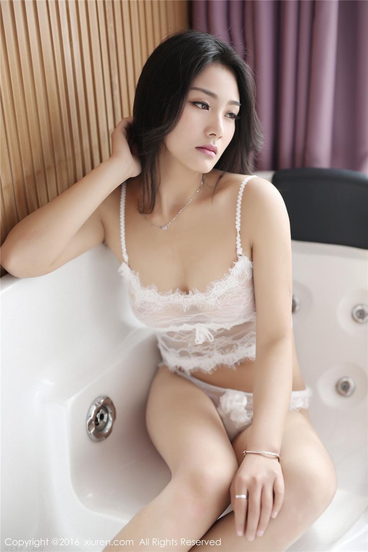 508 古典汉服+蕾丝内衣 白微Sera[51P][12.2MB]
