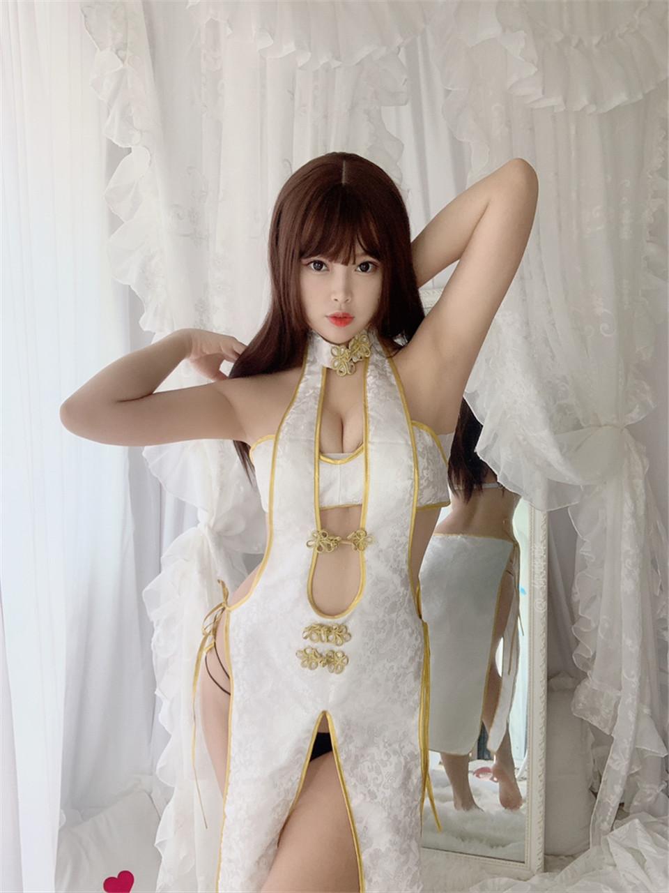 白烨_Vol.002 白旗袍[40P+6V]