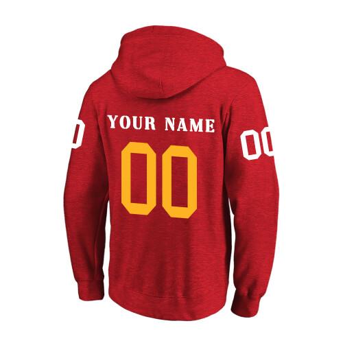 NFL 卫衣 红2 2