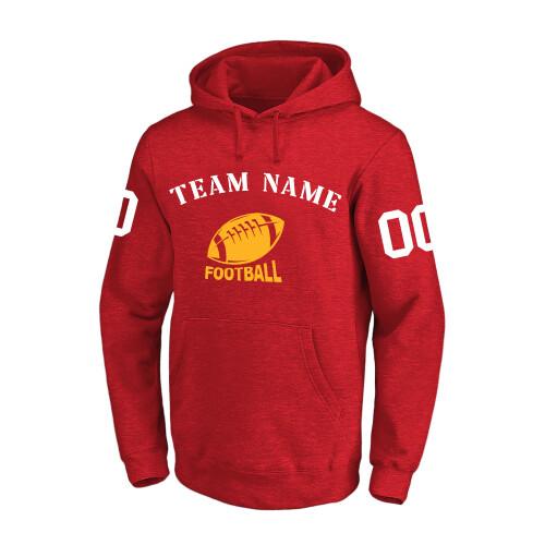 NFL 卫衣 红2 1