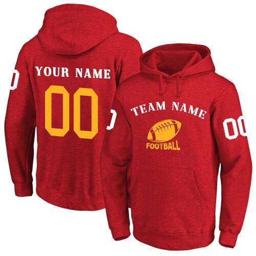 NFL 卫衣 红2 0