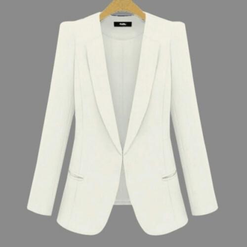 2021 New Plus Size Women s Business Suits Spring Autumn All match women Blazers Jackets Short (3)