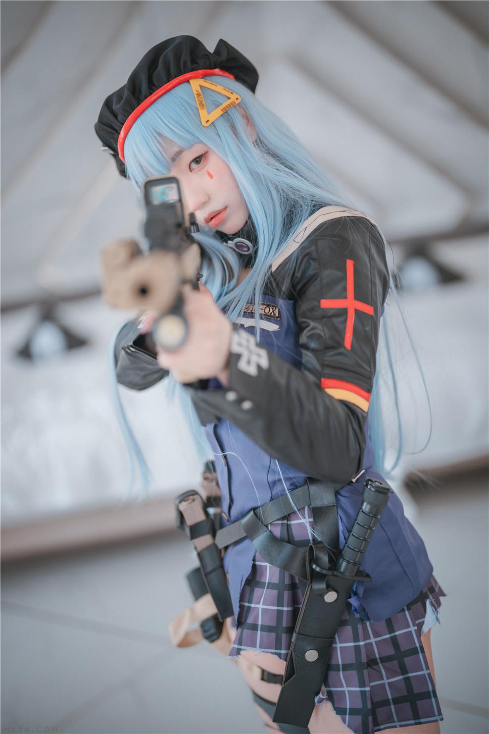 밈미 – Girls' Frontline – HK416 (Damaged ver.) [244P-4.40 GB ]