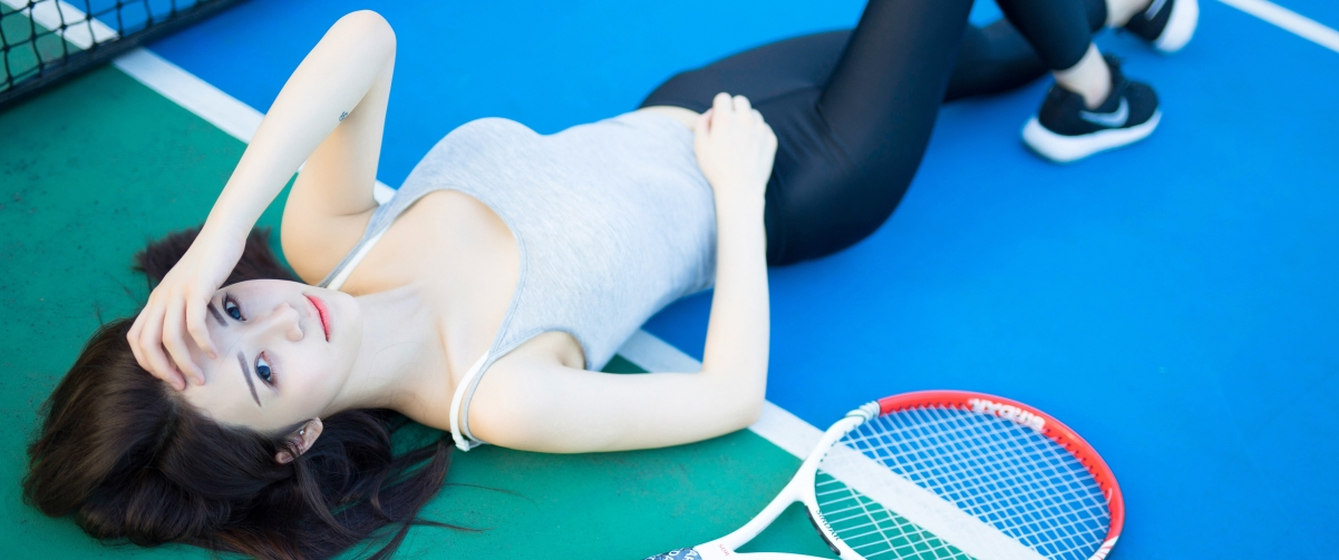 网球美女3440x1440壁纸