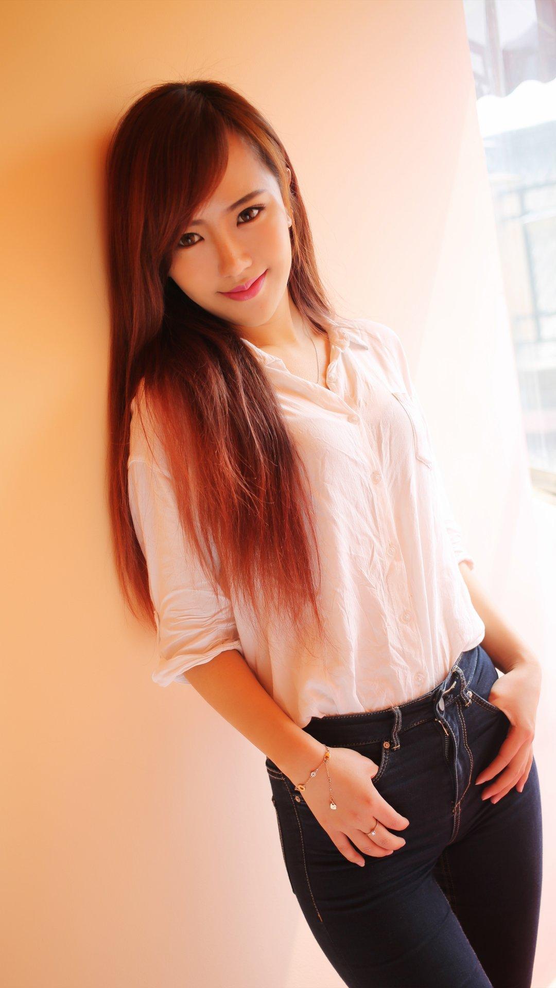 赵婉妮Wanni美女模特4k手机壁纸