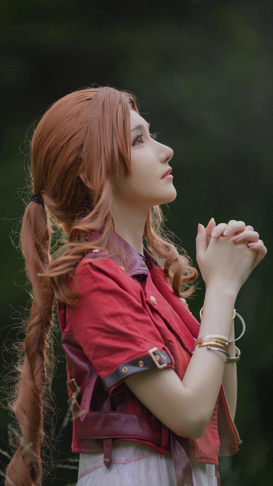最终幻想爱丽神级cosplay写真