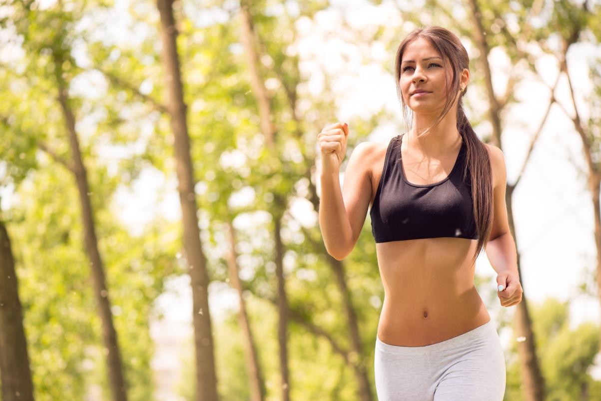 秋天,跑步,体育,户外活动,运动,女性,美女跑步图片