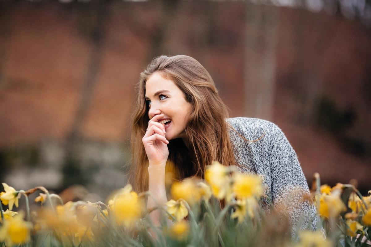 女孩,脸,眼睛,微笑的照片