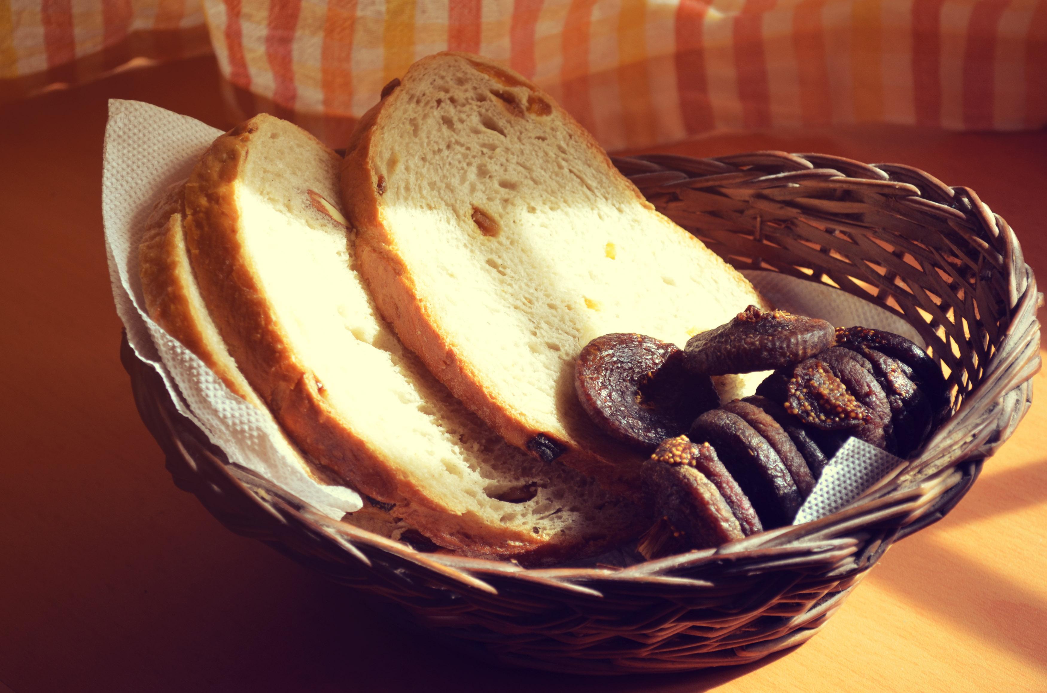 干无花果乡间面包