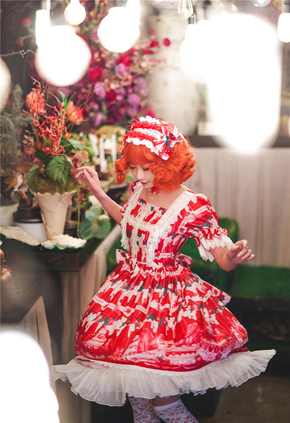阿包也是兔娘 NO.12 lolita红裙 [350.55 MB]