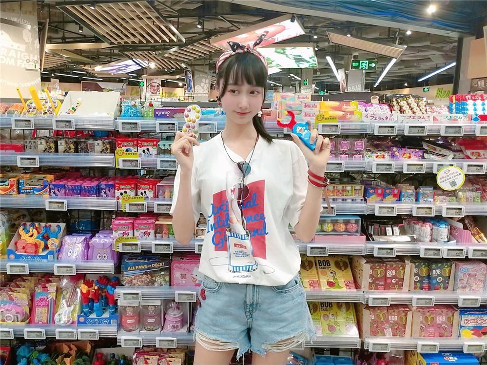 木绵绵OwO – NO.52 智能型彼女 T恤 [22P-9MB]