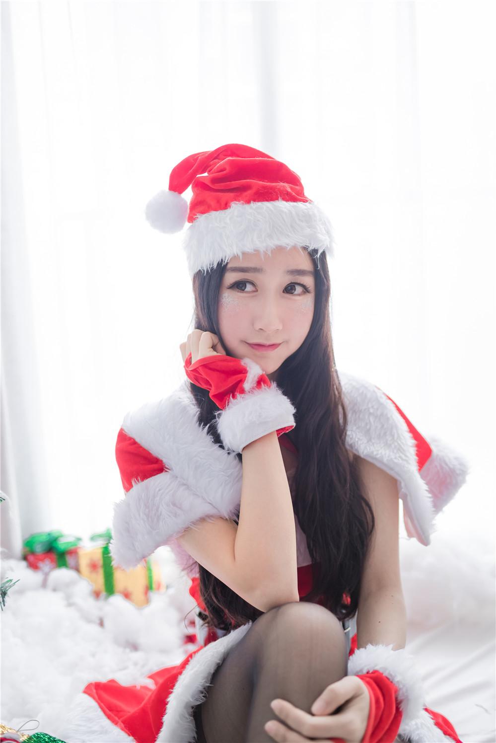 木绵绵OwO – NO.25 圣诞老人和驯鹿酱 [46P-171MB]