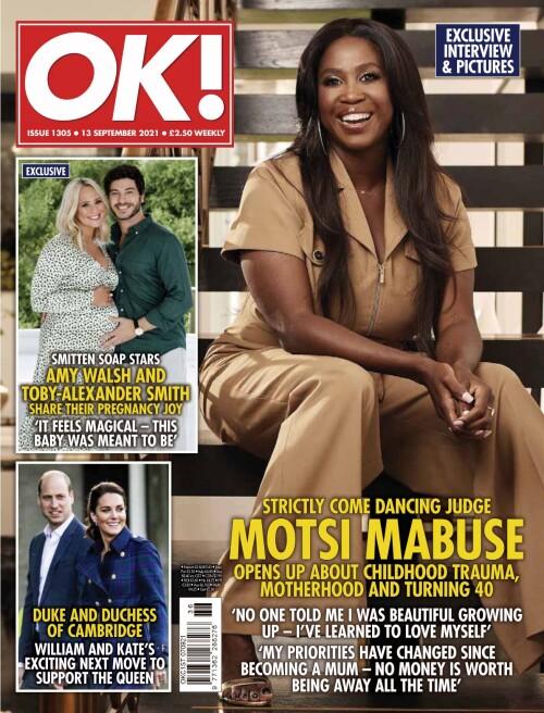 【pdf+jpg格式】OK! Magazine UK 13 September 2021插图