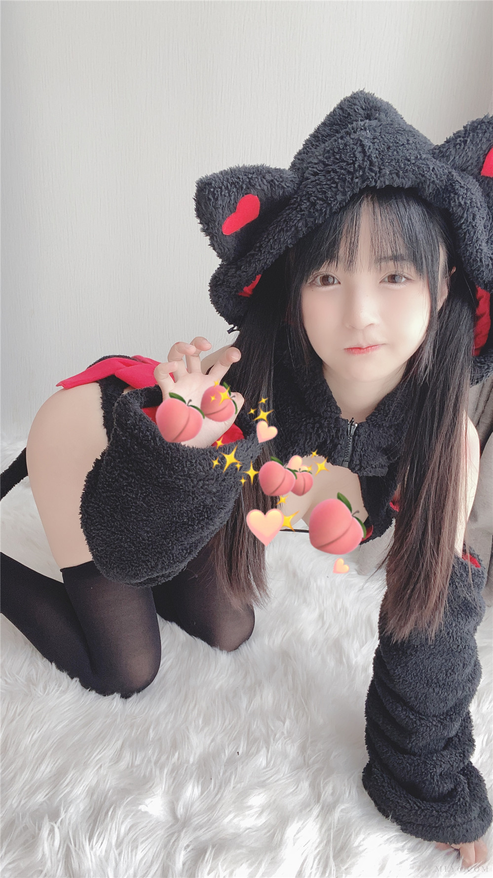 桜井宁宁 NO.014 小黑猫[50P4V-103MB]