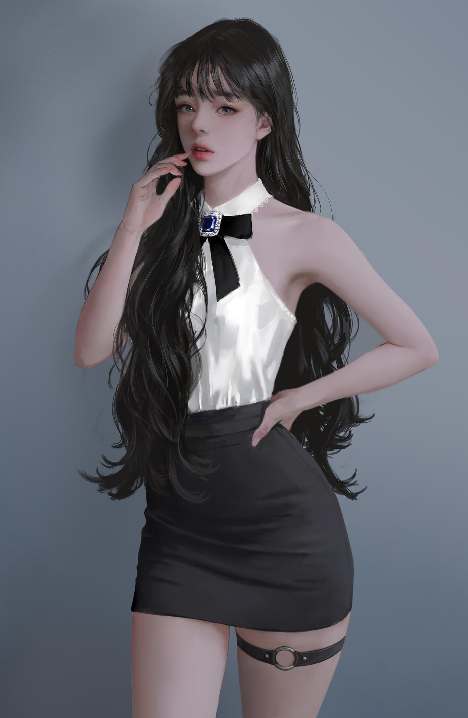 PIXIV 韩国艺术家J.Won Han