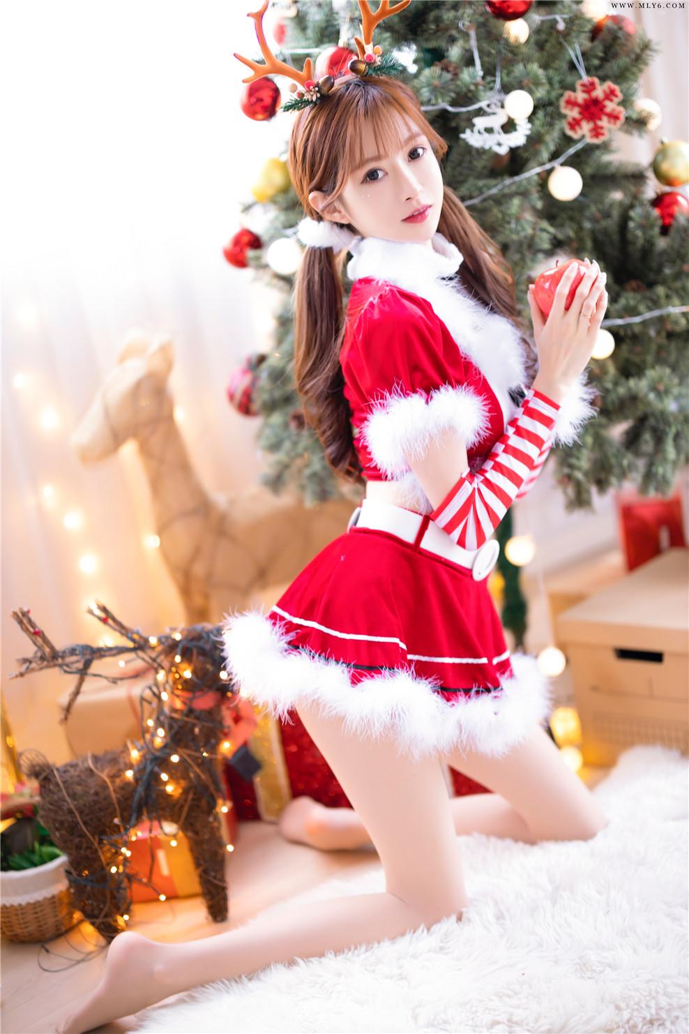 王羽杉Barbieshy – NO.10 圣诞特辑