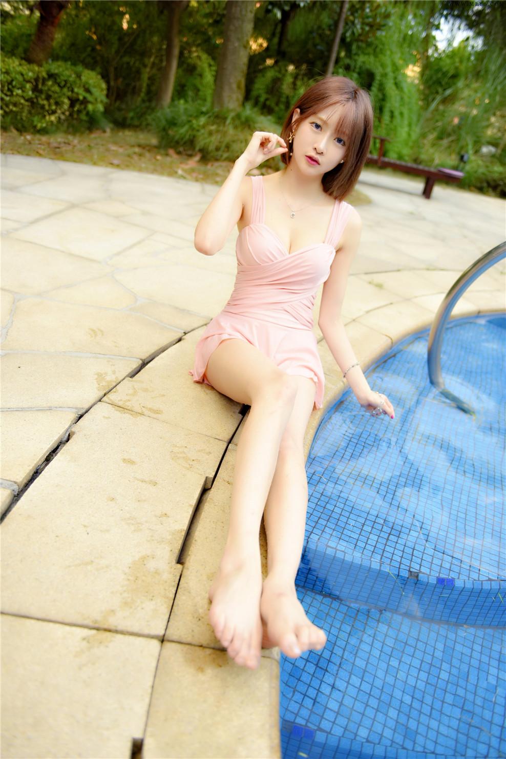 王羽杉Barbieshy – NO.15 泳装