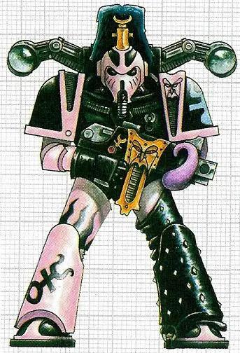 第三军团星际战士形象